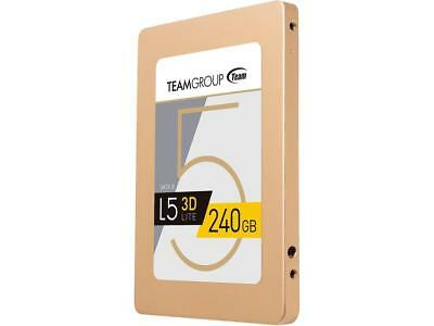 """Team Group L5 LITE 3D 2.5"""" 240GB SATA III 3D NAND Solid State Drive"""
