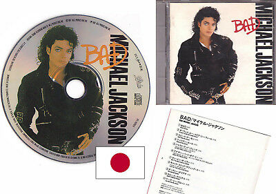 Michael Jackson BAD Picture CD Limited Edition JAPAN 1987