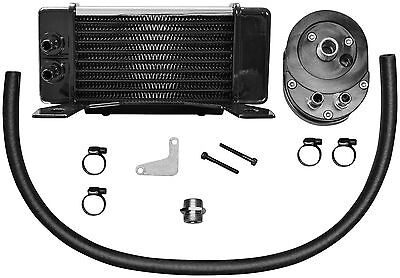 Jagg Oil Coolers Flh 10-Row Low Mount Kit Chrm 750-2380 Engine Other