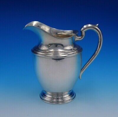 """Regal by Newburyport Sterling Silver Water Pitcher 8 1/2"""" Tall (#3242)"""