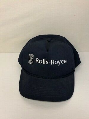 VINTAGE ROLLS ROYCE SnapBack Hat With Built In Am fm Portable Radio ... 44ce1a4c39c7