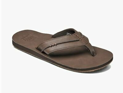 97659bd49228 NEW WITH TAGS! REEF Men s Phantoms leather Sandals Flip Flops Size 8 ...