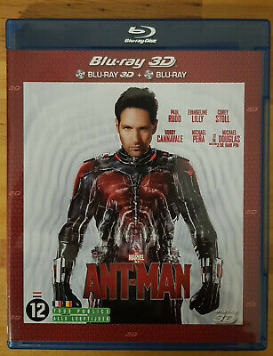 Antman - Ant Man - 3D Blu Ray