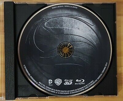 MAN OF STEEL - 3D BLU RAY - Disque seul
