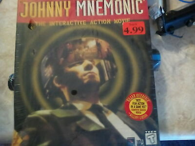 Johnny Mnemonic: The Interactive Action Movie (PC, 1995)