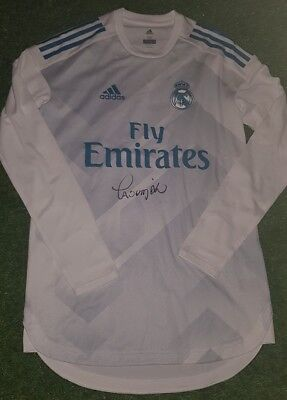 Fußball-Trikots Real Madrid FULL SPONSOR player issue sweater shirt Ronaldo Bale Modric Ramos 3