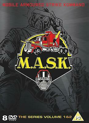 Mask: Complete Collection DVD 8 DISC COLLECTION REGION 2 UK