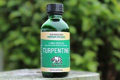 100% Pure Gum Spirits of Turpentine ( Explains Turpentine).
