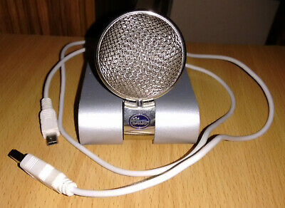 Used Blue Snowflake Condenser Microphone