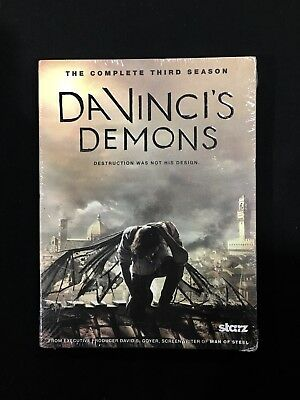 Da Vincis Demons: Season 3 (DVD, 2016, 3-Disc Set)