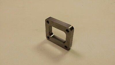 """T4 Spacer Undivided Inlet Turbo Flange 3/4"""" fit Garrett Borg Precision S300 GT35"""