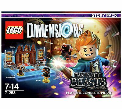 LEGO DIMENSIONS FANTASTIC BEASTS STORY PACK 71253 PS3 PS4 XBOX 360 ONE Wii U NEW