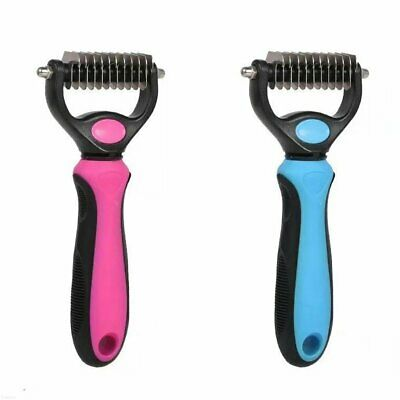 Pet Cat Dog Groomer Brush Fur Knot Cutter Hair Remover Rake Comb Tool Quality %N