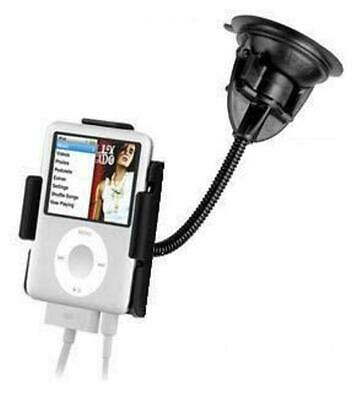 TRUCK SUV CAR WINDSHIELD FLEXIBLE SUCTION CUP MOUNT FOR iPod nano 3rd GENERATION