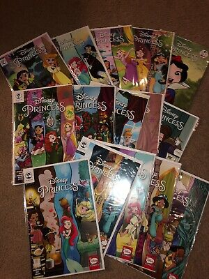 Disney Princess Collectible Comics #1-15