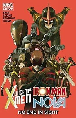 Uncanny X-Men/Iron Man/Nova: No End in Sight, Ryan, Sean, Ackins, Ron, Handoko,
