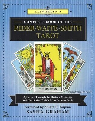 """Llewellyn's Complete Book Of The Rider Waite Smith Tarot"" Sasha Graham (Book)"