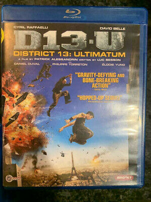 District 13 Ultimatum Blu-Ray Disc & Case ONLY X-Rental FAST FREE Combine SHIP
