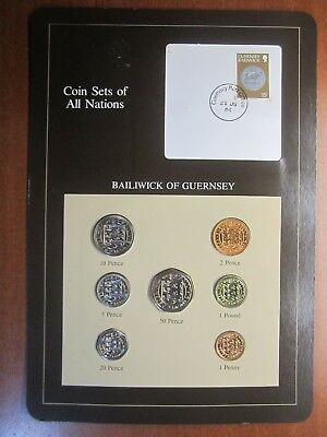 Coin sets of all nations  bailiwick of guernsey 1979 1983