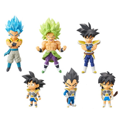 Movie Dragon Ball super World Collectible Figure Vol.3 Complete Set of 6 JAPAN