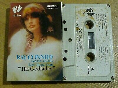 """Cassette K7 Tape Ray Conniff  Love Theme From  """" THE GODFATHER """" S15-A"""