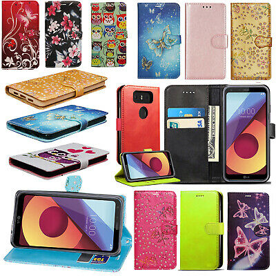 For LG G6 Genuine Leather Flip Slim Magnetic Wallet Shockproof Stand Case Cover