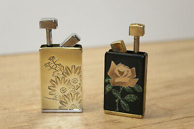 "Vintage Collectable, Perfume Atomizer Brass & Enamel ""NACON corona & PRIMADONA"""