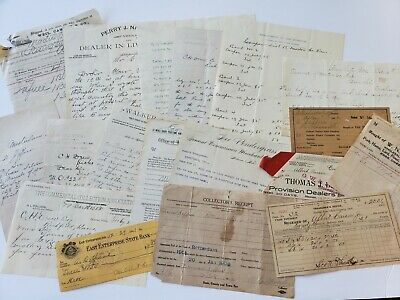 Junk Journal Lot Of Antique And Vintage Paper Ephemera 18 Pcs 1800s & 1900s