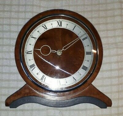 Smiths Mantel Clock recently serviced and restored - 1950's - Bakelite