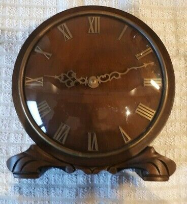 Smiths Mantel Clock 1953, 4 Jewel , working condition, solid wood, oak ?