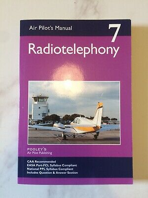 Air Pilots Manual - Radiotelephony - Pooleys Publishing - Excellent Condition
