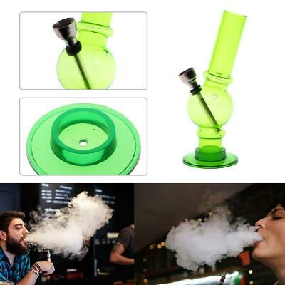 Portable Clear Mini Acrylic Weed Water Pipe Hookah Shisha Tobacco Smoking Pipe