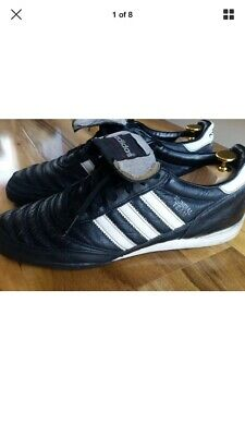 8ccbf5190f57 Adidas Mundial Team Astro Turf Leather Football Trainers, size 9 UK #