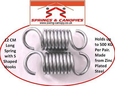 Hanging Chair Punch bag etc 9.5cm 90 deg Replacement Springs for Garden Swing