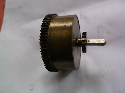 Mainspring Barrel  From An Old    Mantle Clock  Ref Sm 93
