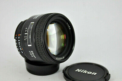 Nikon Nikkor AF 85mm f/1.8 AF D Lens Prime lens portrait very nice condition