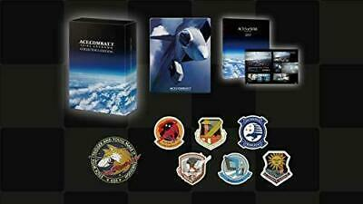 ACE COMBAT 7 SKIES UNKNOWN COLLECTOR'S EDITION PlayStation 4 Steel book booklet