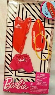 Barbie Lifeguard Fashion Pack & Rescue Can Accessory New 2018