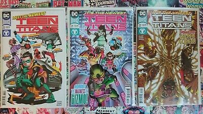 Teen Titans #20, 21 & 22 new Bagged and Boarded. 1st app of crush Lobos Daughter