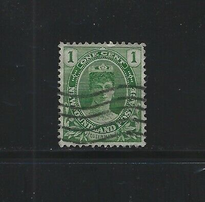 NEWFOUNDLAND - #104 - 1c QUEEN MARY USED STAMP (1911) ROYAL FAMILY