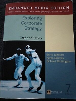 Exploring Corporate Strategy Enhanced Media Edition Text and Cases 7th Edition:…