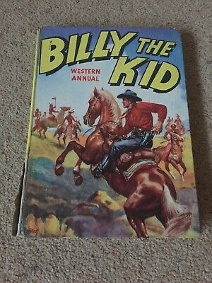 BILLY THE KID'S WESTERN ANNUAL. 1957 Good Condition