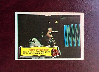 A&bc 1969 Scarce 'Land Of The Giants' Card -# 24 (Giant Approaching) ~ Exc