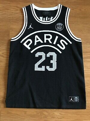 667bec09a276 Nike Jordan x PSG Flight Knit 23 Basketball Jersey Large - Paris Saint  Germain