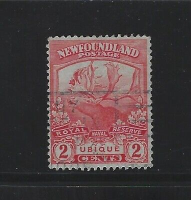 NEWFOUNDLAND - #116 - 2c TRAIL OF THE CARIBOU USED STAMP (1919) UBIQUE