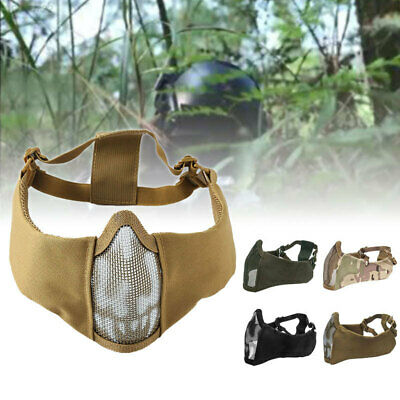 AFD8 Cs Equipment Sand Color Halloween Field Self-Defense Mask Protection