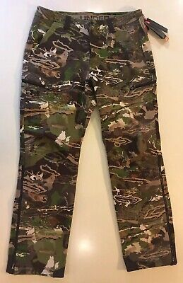 ce77888e96055 Under Armour Threadborne Storm Wool Blend Camouflage Hunting Sport Pants 38  X 34