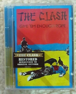 The Clash Give Em Enough Rope Minidisc album.New and sealed