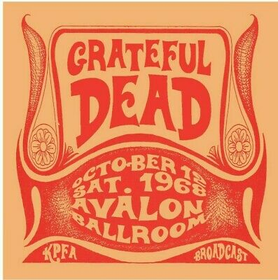 GRATEFUL DEAD  - Avalon Ballroom, October 12th 1968 (1CD)