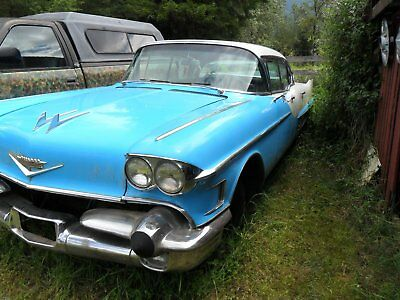 Cadillac: Other TWO nice 1958 cadillac 4dr